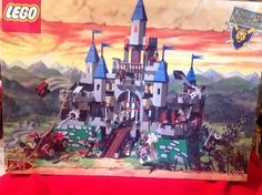 Lego Knights' Kingdom Castle Set 6091 KING LEO'S CASTLE - As Shown W/box&…