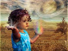 """Words for Rainbow Children from blog by Jackie Allen with image by Temari 09 on Flickr & quote by Aberjhani: """"Rainbows introduce us to reflections of different beautiful possibilities so we never forget that pain and grief are not the final options in life."""" ― Aberjhani, Journey through the Power of the Rainbow"""