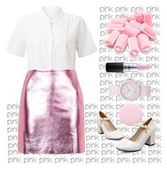 """""""Pink pink pink pink pink pink pink pink pink pink pink pink pink pink pink pink pink pink"""" by gaaras-leaf on Polyvore featuring EAST, Topshop, Juicy Couture, MAC Cosmetics and Nails Inc."""