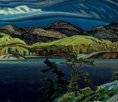 FRANKLIN CARMICHAEL.. 5/4/1890--10/24/1945 . ........... member of the Canadian Group of Seven