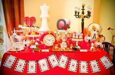 Noivado no Tema Rainha Vermelha ♡ | Engagement Red Queen