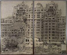 Destruction III   Richard Artschwager, Destruction III (1972)