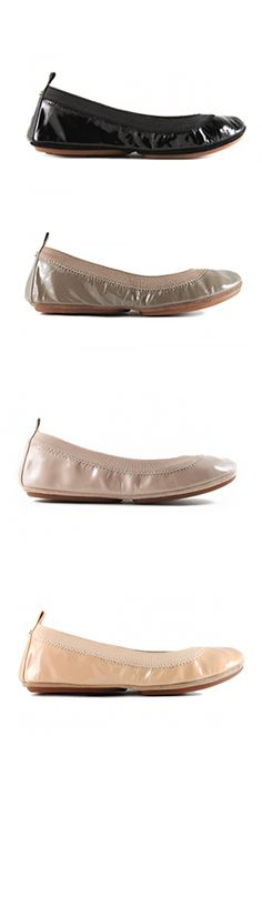 Yosi Samra Foldable flats soft patent leather perfect for everyday wear! #foldableflats #yosisamra #patentleather