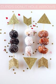 Cupid's Donut Hole Arrows by Tan of Squirrelly Minds | Project | Papercraft / Decorative | Kollabora
