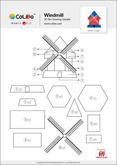 colido-3d-pen-stencil-windmill.jpg (736×1041)