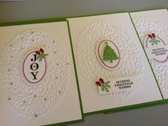 A wonderful day of Stampin' Up! Christmas fun!