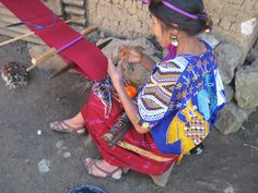 Backstrap weaving, Nebaj, Guatemala