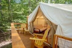 Cabins at Copperhill The Kayaker Tent, Copperhill TN Cabins and Vacation Rentals   RentTennesseeCabins.com
