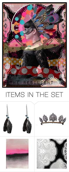 """""""FEATHERS 5"""" by polixena ❤ liked on Polyvore featuring art"""