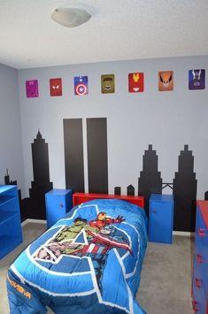 Stunning DIY Batman Themed Bedroom Ideas for Your Little Superheroes