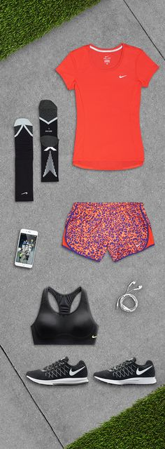 You make the miles. We'll do the rest. Get everything you need to run from bra to beats in the Nike Women Ready-Set-Go Fit Kit.