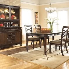 That Furniture Outlet - Minnesota's #1 Furniture Outlet. We have exceptionally low everyday prices in a very relaxed shopping atmosphere. Ashley Hayley 7 Piece Dining Set. Twin http://ift.tt/2bbD6DE #thatfurnitureoutlet  #thatfurniture