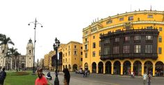 Plaza de Armas - Plaza Mayor Historic Downtown Lima!  One of the most beautiful main plazas that I have ever seen in South America.  This is often where the ISA students end their walking tour of historic downtown.  Photo credit: @kristinabjorksten  #isaabroad #discoverlima #isalatinamerica #studyabroad #isalima #lima #peru #theworldawaits #seetheworld #municipalpalaceoflima #catedrallima by michelle_in_peru