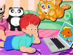 لعبة وقت لعب القط توم لعبة حلوة من العاب اطفال  Kids Games الرائعة جداً علي العاب فلاش ميزو
