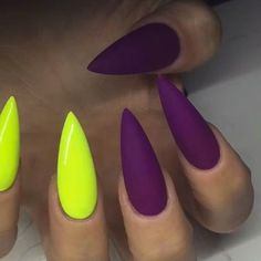 Best Stiletto Nails for 2018 - 89 Trending Stiletto Nail Designs - Best Nail Art