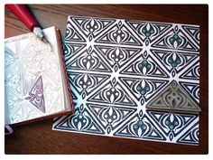 Le Bal des Sylphes Linocut Prints, Art Prints, Impression Textile, Motifs Textiles, Linoleum Block, Stamp Carving, Handmade Stamps, Fabric Stamping, Art Curriculum