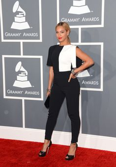 Beyonce @ 2013 Grammy Awards - Worst Dressed