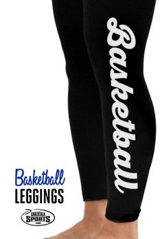 Check out these adorable basketball leggings!