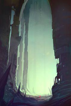 Colossal, Matteo Bassini on ArtStation at https://www.artstation.com/artwork/Wl4z2