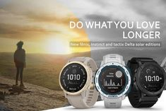 "Garmin anunţă noi ceasuri inteligente ""Solar"" cu alimentare solară: modele Instinct, Fenix 6, Tactix Delta Solar Energy, Solar Power, Innovation News, Kill Switch, Older Models, Wipe Out, Energy Technology, Smart Watch, Surfing"