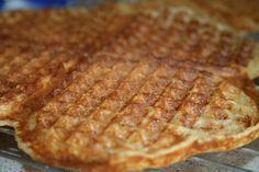Godt og Sunt: Glutenfrie Havre-Vaffler