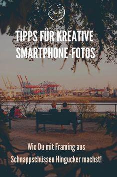 """In meiner Reihe """"Tipps für kreative Fotos"""" soll es heute um das Thema Framing gehen. Aber was ist das genau: Framing? Das Wort kommt aus dem Englischen und bedeutet """"Rahmen"""". Framing nennt sich in der Fotografie die Kunst, einem Motiv einen Rahmen durch Elemente in der Umgebung zu verleihen. Wie das genau funktioniert, und welche tollen Effekte Du mit diesem """"Trick"""" erzielen kannst, zeige ich Dir hier! Vivian Maier, Instagram Feed, Workshop, Smartphone, Movie Posters, Good Photos, Photo Illustration, Hamburg, Seafood Market"""