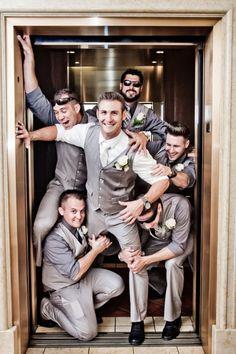 awesome 65 Elegant Groom and Groomsmen Wedding Photo You Must Have  https://viscawedding.com/2017/04/24/elegant-groom-groomsmen-wedding-photo-must/
