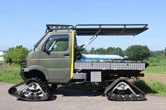 Mini Trucks, Custom Trucks, Pickup Trucks, Mini 4x4, Snow Vehicles, Suzuki Carry, Future Trucks, Truck Mods, Mini Camper