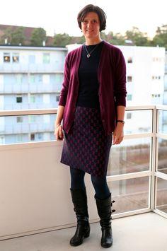 Tall Girl's Fashion // Dressing down a pencil skirt