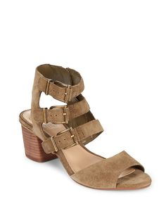 0f88ef715764a3 Geriann Leather Midheel Sandals by Vince Camuto at Gilt