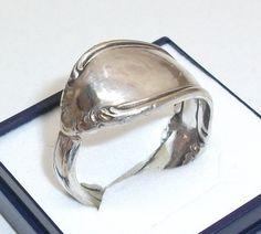 Antiker Silberring  Besteckschmuck 23 mm SR185 von Atelier Regina auf DaWanda.com