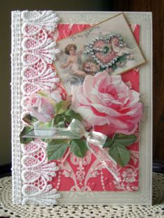 Valentine Card 4 from ANNA GRIFFIN ALL ABOUT LOVE CARD KIT FEB 2014