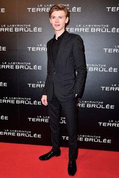 Thomas Brodie-Sangster Maze Runner : Scorch Trials Paris Premiere