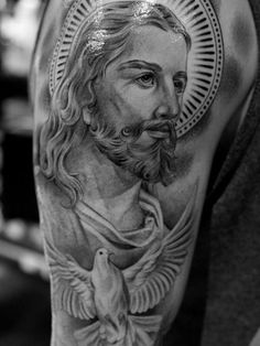 Spiritual Jesus Christ Tattoo Designs And Meaning Find Your Way for Jesus Tattoo…