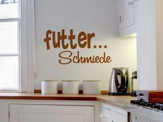 Wortspiel Als Wandtattoo Für Küche Und Esszimmer · WortspielKüche Und EsszimmerSelber  MachenZuhauseDekoTattosDo ...