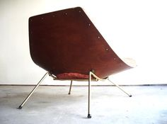 A Rare Winnipeg Chair in Molded Plywood + Brass by A.J. Donahue - Modern Love: Mid-Century Modern Furniture, Lighting, Design