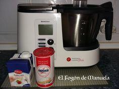 Nata montada (monsieur cuisine) | Cocina Lidl, Drip Coffee Maker, Relleno, Easy, Kitchen, Aurora, Silver, Sour Cream, Tart Recipes