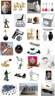 Saluting Design: An Army Of Military-Inspired Art and Products.   http://www.ifitshipitshere.com/saluting-design-an-army-of-military-inspired-products-modern-art/