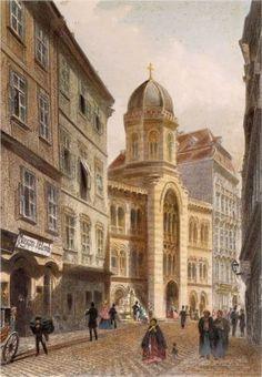 Holy Trinity Greek Church, Vienna - Rudolf von Alt