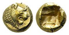 Lydia, Sardes. Hemihekte Alyattes – Kroisos, circa 620/10-550/39 BC. - my collection