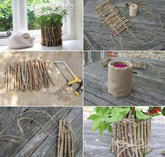 DIY ... Flower pot