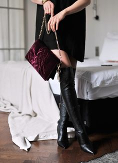 Over The Knee Boots Fashion Trend: Katarzyna Tusk is wearing boots from Prima Moda
