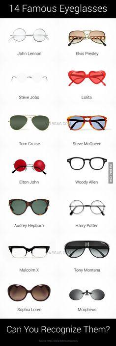 Famous Eyeglasses.