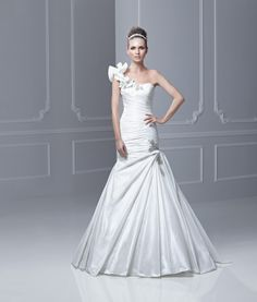 4fd682bf5b Fabiola - Blue by Enzoani Wedding dresses available at White Mischief. Mimi s  Bridal Showroom