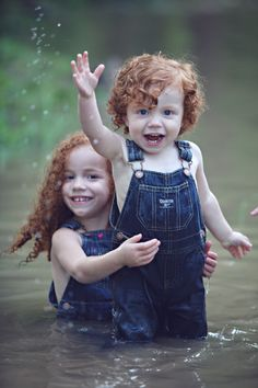 Alright. I can have curly redheaded children. I'm okay with that now.