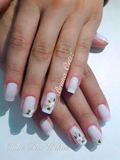 TOP Fotos e Modelos de Unhas Decoradas Forearm Tattoos, Manicure And Pedicure, Diy Art, Tattoos For Women, Nail Art Designs, Lily, My Favorite Things, How To Make, Beauty