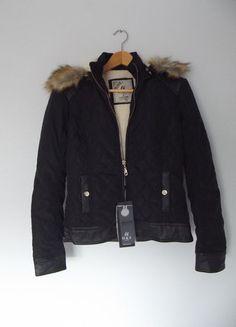 Nowa kurtka pikowana, ocieplona misiem r. S Kup mój przedmiot na #vintedpl http://www.vinted.pl/damska-odziez/kurtki/15617432-elegancka-pikowana-krotka-kurteczka-s