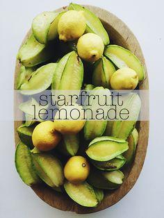 ohdeardrea: Gardenfood: Starfruit (Carambola) Lemonade Recipe