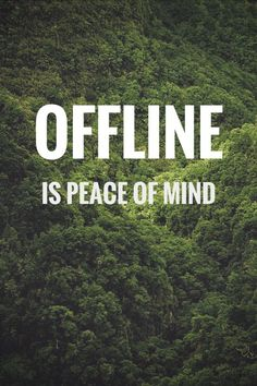 "The Internet/social media can be very draining and damaging for ENFPs. Information overload and too much ""bad news."" Unplugging helps reduce the anxiety..."