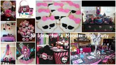 10 Ideas for a Monster High Party | Birthday Party Ideas | Birthday Party Themes | Kids Party Ideas | Kids Birthday Party Themes | The PartyXplosion
